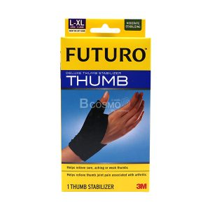 FUTURO-Deluxe-Thumb-Stabilizer-ฟูทูโร่-พยุงนิ้วหัวแม่มือ-ไซส์-L-XL-ES0110-L-XL-1-300x300 FUTURO Deluxe Thumb Stabilizer ฟูทูโร่ พยุงนิ้วหัวแม่มือ ไซส์ L-XL