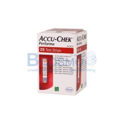 แผ่นตรวจน้ำตาล ACCU-CHEK PERFORMA STRIPS 25 ชิ้น