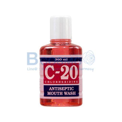 C 20 MOUTH WASH 360 ml. PA0520 3601