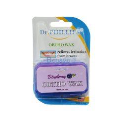 ขี้ผึ้งสำหรับคนจัดฟัน (Dr. Phillips) 2 กล่อง (กลิ่นบลูเบอรี)