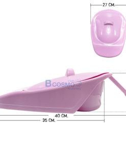 หม้อนอน JC881-W มีฝาปิด สีม่วง