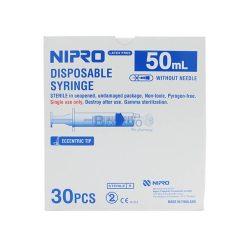 ไซริงค์หัวข้าง SYRINGE NIPRO 50 ML. ( 30 ชิ้น )