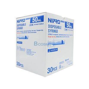 ไซริงค์หัวข้าง SYRINGE NIPRO 50 ML. 30 ชิ้น