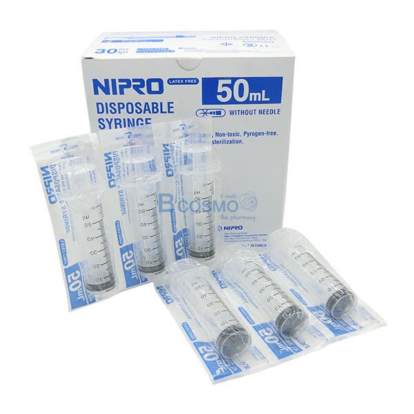 P-6783 - EF0801-02-501 ไซริงค์หัวข้าง NIPRO 50 ML. 30 ชิ้น 3