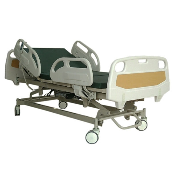 เตียงผู้ป่วยไฟฟ้า,5 ฟังก์ชั่น,ราวปีกนก,หัว-ท้ายABS,เตียงคนไข้ไฟฟ้า,P-6669 PB0102