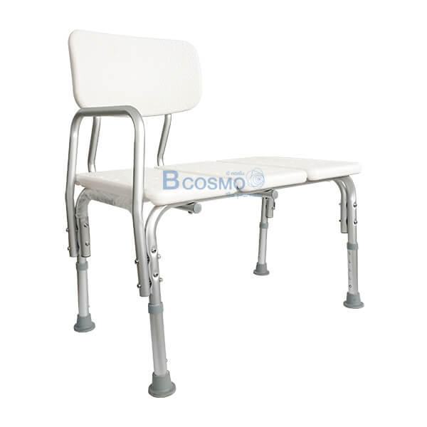 P-6610-เก้าอี้อาบน้ำมีพนักพิงใหญ่-Y799-4-1 เก้าอี้นั่งอาบน้ำ แบบยาว มีพนักพิงใหญ่ Y799