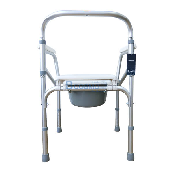 P-6615-เก้าอี้นั่งถ่ายพับได้อลูมิเนียมไม่มีล้อ-Y616L-5-1 เก้าอี้นั่งถ่ายพับได้อลูมิเนียมไม่มีล้อ Y616L