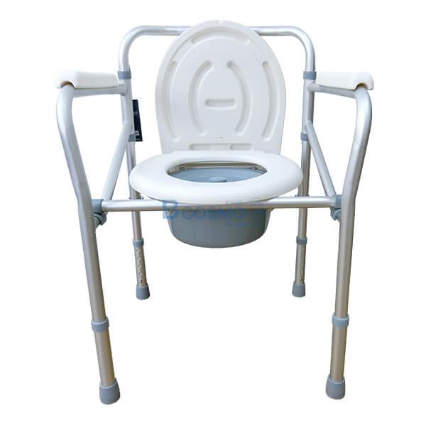 P-6615-เก้าอี้นั่งถ่ายพับได้อลูมิเนียมไม่มีล้อ-Y616L-7-1 เก้าอี้นั่งถ่ายพับได้อลูมิเนียมไม่มีล้อ Y616L