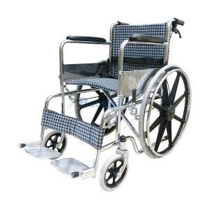 P-6662-รถเข็นล้อแม็กเบาะผ้า-สีดำขาว-Y809-300x300 รถเข็นผู้ป่วย เหล็กชุบ ล้อแม็ก เบาะผ้า สีดำขาว