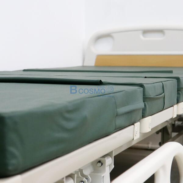 เตียงผู้ป่วยไฟฟ้า,5 ฟังก์ชั่น,ราวปีกนก,หัว-ท้ายABS,เตียงคนไข้ไฟฟ้า,P-6669