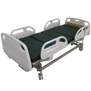 เตียงผู้ป่วยไฟฟ้า 5 ฟังก์ชั่น หัว-ท้าย ABS ราวปีกนก (รุ่น TOP)