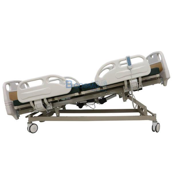P-6669 - เตียงผู้ป่วยไฟฟ้า 5 ฟังก์ชั่น หัว-ท้าย ABS ราวปีกนก (รุ่น TOP)-3