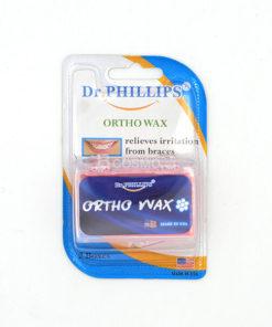 ขี้ผึ้งจัดฟัน ORTHO WAX (Dr. phillips) 2 กล่อง (ไม่มีกลิ่น)