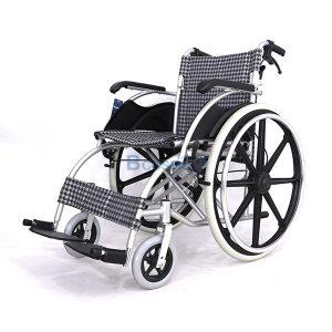 WC0501-B-2-ลายน้ำ-300x300 รถเข็นผู้ป่วย อลูมิเนียมอัลลอยด์ ล้อ 24 นิ้ว สีดำขาว