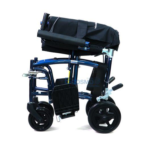 P-6692 WC1103-BL-รถเข็นน้ำหนักเบา-Wheelchair-AL8KG-สีน้ำเงิน