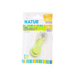 กรรไกรตัดเล็บเด็ก ยี่ห้อ NATUR เขียว