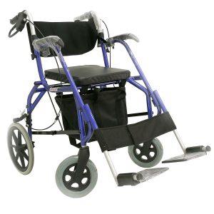 Wheelchair Rollator รุ่น SL-812 รถเข็นหัดเดิน 2 in 1(รถเข็น+รถหัดเดิน)