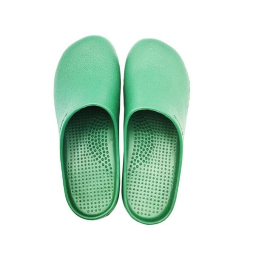 EVA MEDICAL SHOES รองเท้าใส่ในห้องผ่าตัด กันลื่น สีเขียว (พื้นดำกันลื่น)