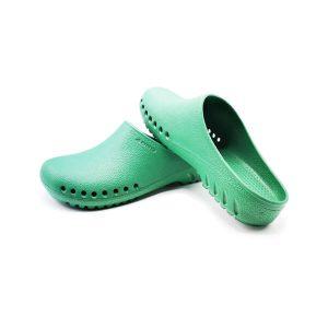 รองเท้าใส่ในห้องผ่าตัดกันลื่น ANNO รุ่น AN000 สีเขียว OR Shoes