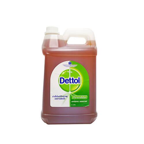 เดทตอล ผลิตภัณฑ์น้ำยาฆ่าเชื้อโรคอเนกประสงค์ ไฮยีน มัลติยูส 5 ลิตร.