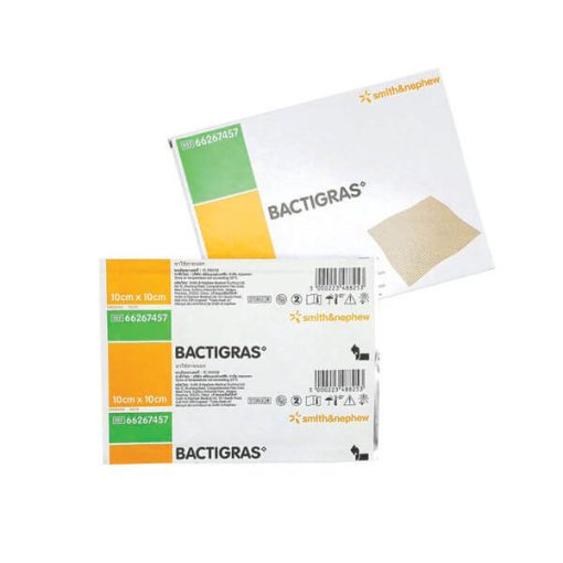 BACTIGRAS SMITH&NEPHEW 10 X 10 CM.