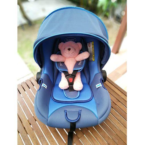 CAR SEAT Meinkind รุ่น HANNAH ฮันน่า240 สีน้ำเงิน (แถมฟรีตุ๊กตาRILAKKUMA)
