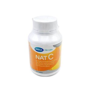 NAT-C วิตามินซี 1000 มิลลิกรัม 60 เม็ด