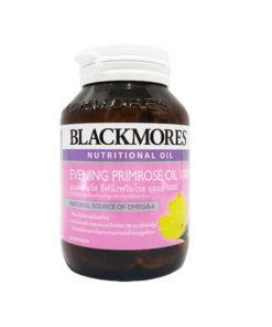 Blackmores Evening Primrose Oil 1000 mg 60 Capules แบลคมอร์ส อีฟนิ่ง พริมโรส