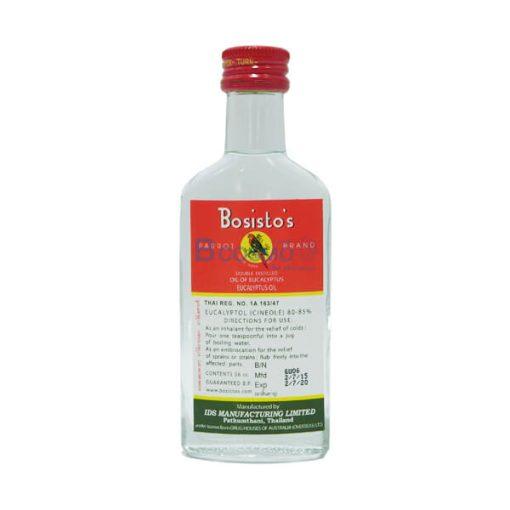 น้ำมันยูคาลิปตัสโบลิสโต ตรานกแก้ว EUCALYPTUS 56 ml.