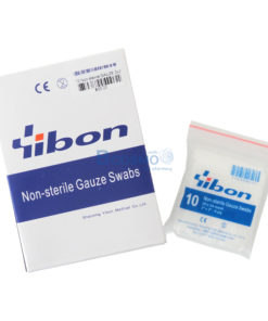 GAUZE Non-sterile 2×2นิ้ว YIBON 10 ซอง/กล่อง