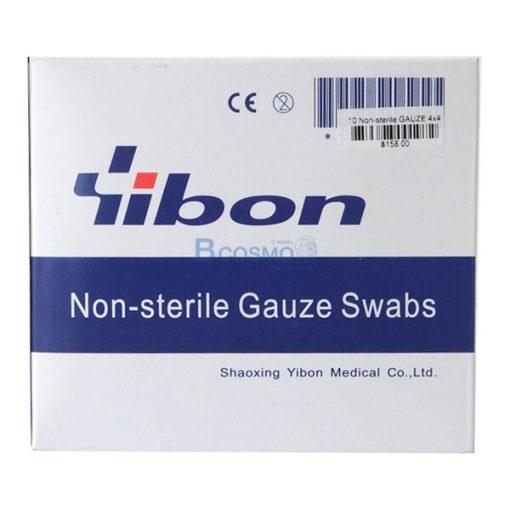 P-1855-GAUZE-Non-sterile-4x4นิ้ว-YIBON-10-ชิ้น
