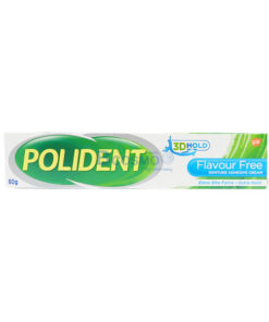 โพลิเดนท์ ครีมติดฟันปลอม (Polident Denture Adhesive Cream 60g.)