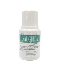 SAUGELLA ATTIVA ซอลเจลล่า แอ็ทติว่า สูตรปกป้องเป็น 2 เท่า สีเขียว 100ML.