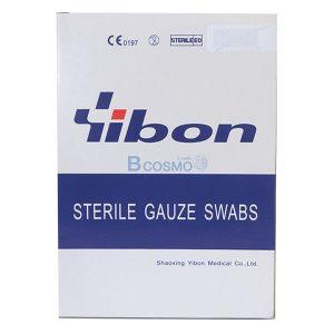 GAUZE STERILE 2×2นิ้ว YIBON 40 ซอง/กล่อง