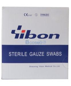 GAUZE STERILE 3×3นิ้ว YIBON 40 ซอง/กล่อง