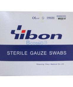 GAUZE STERILE 4×4นิ้ว YIBON 40 ซอง/กล่อง