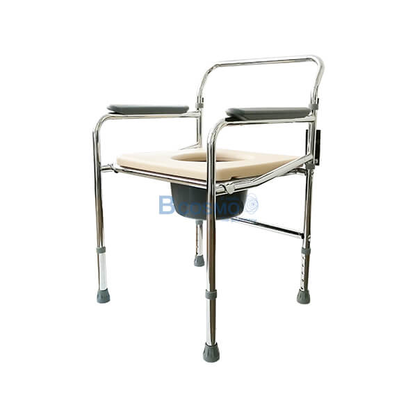 เก้าอี้นั่งถ่าย,อุปกรณ์ห้องน้ำ,เก้าอี้นั่งถ่ายเหล็กชุบโครเมี่ยม