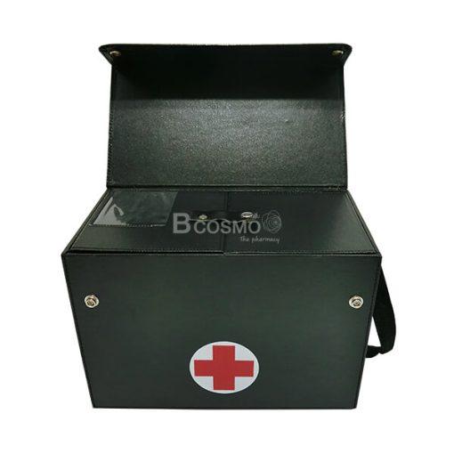 กระเป๋าปฐมพยาบาล มีสายสะพาย สีดำ