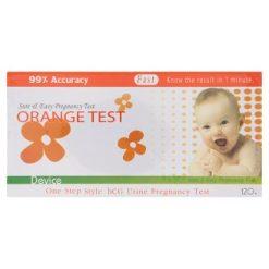 ORANGE TEST ชุดตรวจสอบการตั้งครรภ์แบบหยด