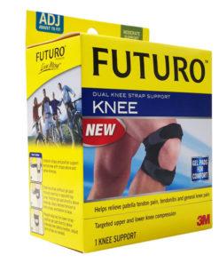 FUTURO Dual Knee Strap ฟูทูโร่ แถบรัดลูกสะบ้าเข่าแบบคู่ FREESIZE