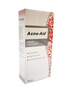 ACNE-AID LIQUID CLEANSER 100ML. แอคเน่เอด (สีแดง)