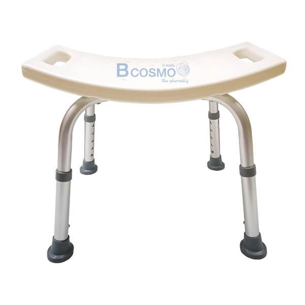 P-5858-เก้าอี้นั่งอาบน้ำสำหรับผู้ป่วย-คนพิการและผู้สูงอายุ-1-1-1 เก้าอี้นั่งอาบน้ำ ไม่มีพนักพิง Y797L สีขาว