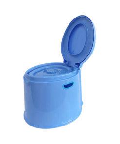 ส้วมเคลื่อนที่, เก้าอี้นั่งถ่าย (สีฟ้า)
