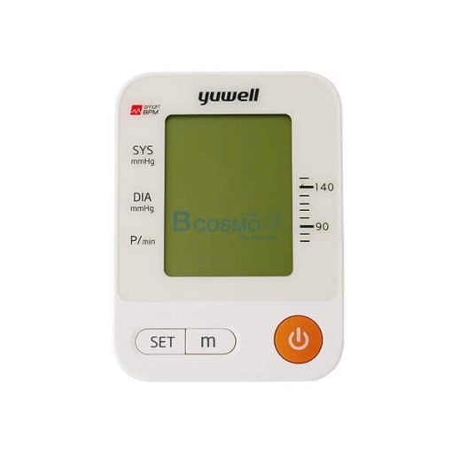 เครื่องวัดความดันโลหิต แบบดิจิตอล YUWELL รุ่น YE670A
