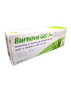 Burnova Gel Plus เบอร์นโนว่า เจล พลัส หลอด 25 กรัม