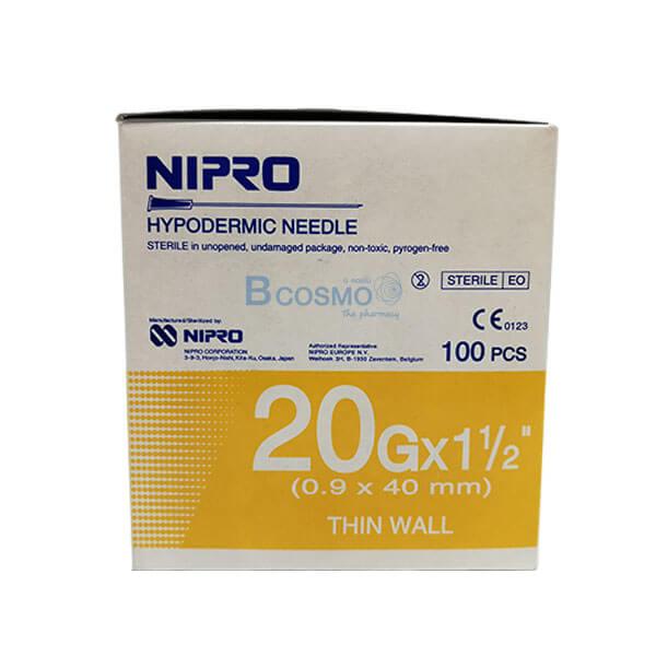 เข็มฉีดยา, นิโปร , NIPRO EF0903-20x1.5