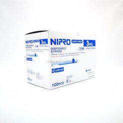 ไซริงค์ SYRINGE NIPRO 3 ML. ( 100 ชิ้น )