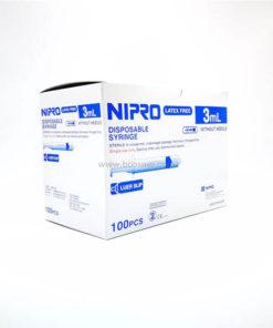 ไซริงค์ SYRINGE NIPRO 3 ML. 100 ชิ้น