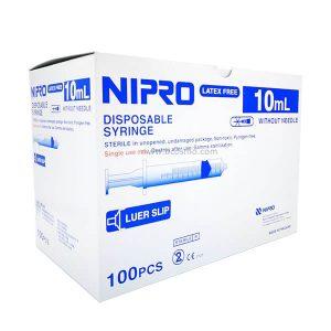 ไซริงค์ SYRINGE NIPRO 10 ML. 100 ชิ้น
