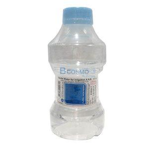 [1 ลัง 20 ขวด ] STERILE WATER น้ำกลั่น สเตอร์ไรด์ ชนิดขวด 500 ML.(ANB)